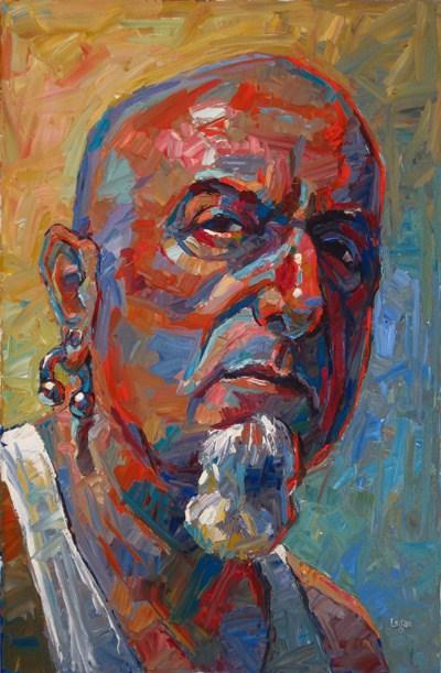 """The Formidable Mr. K"" original fine art by Raymond Logan"