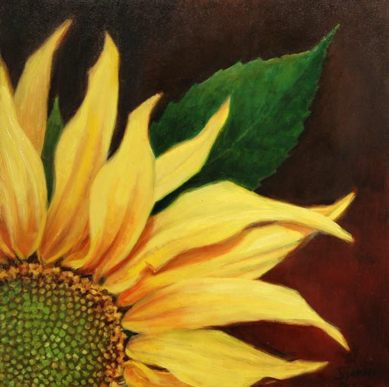 """Sunburst"" original fine art by Susan N Jarvis"