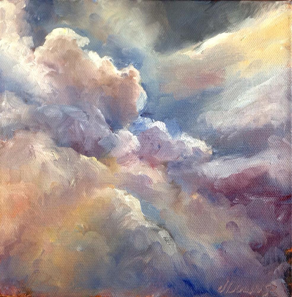 """Prescott sky #1"" original fine art by Judy Downs"