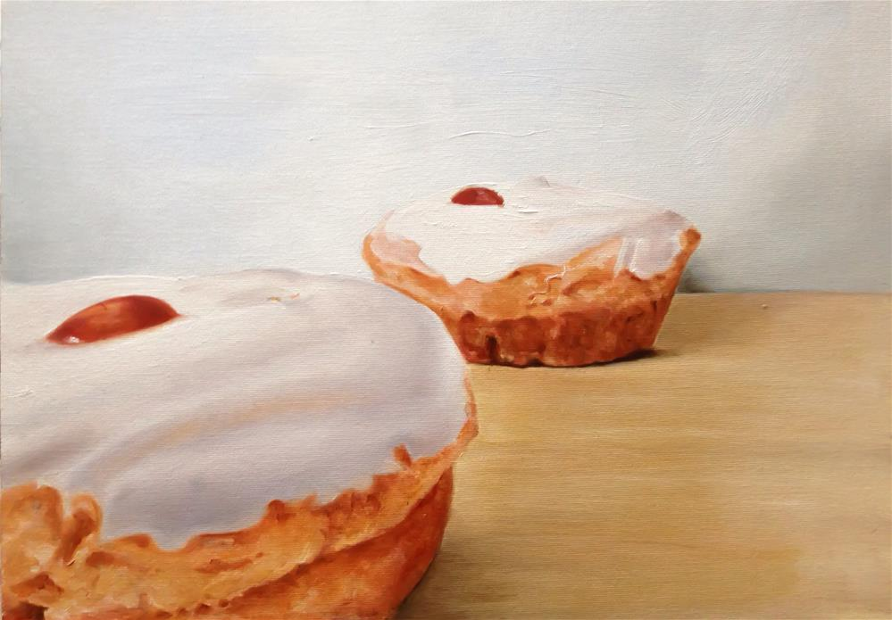 """Belgian Buns"" original fine art by James Coates"