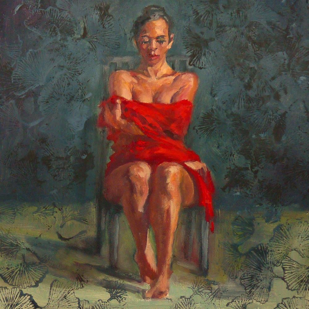 """""""Ties That Bind"""" original fine art by Sharman Owings"""