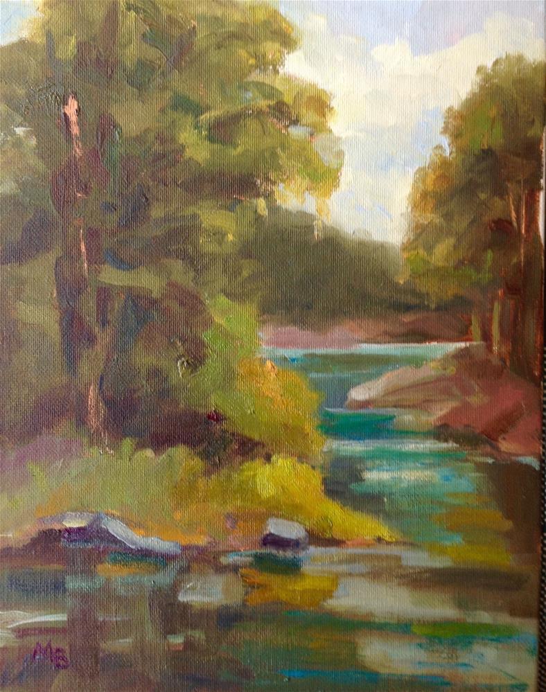 """Dahlonega, GA"" original fine art by Marcia Bergtholdt"
