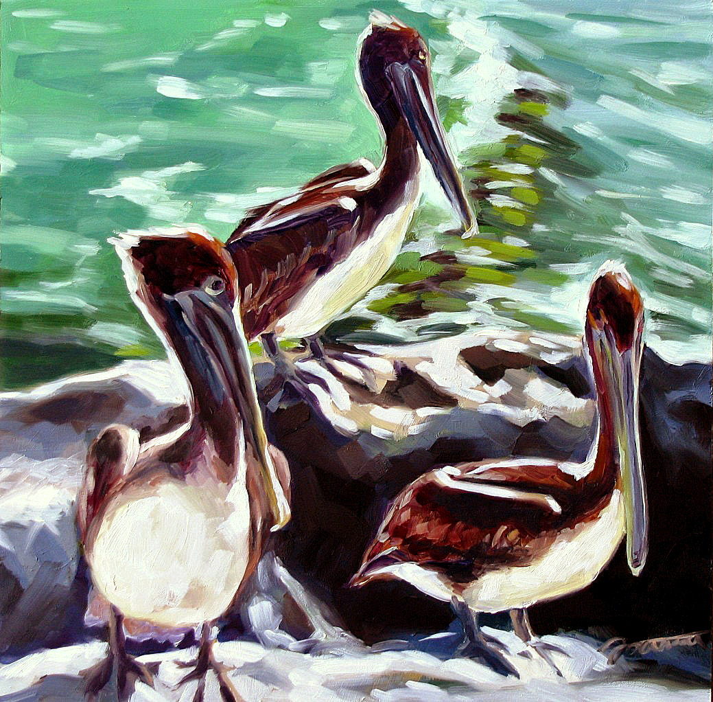"""Sunbathing"" original fine art by Joanna Bingham"