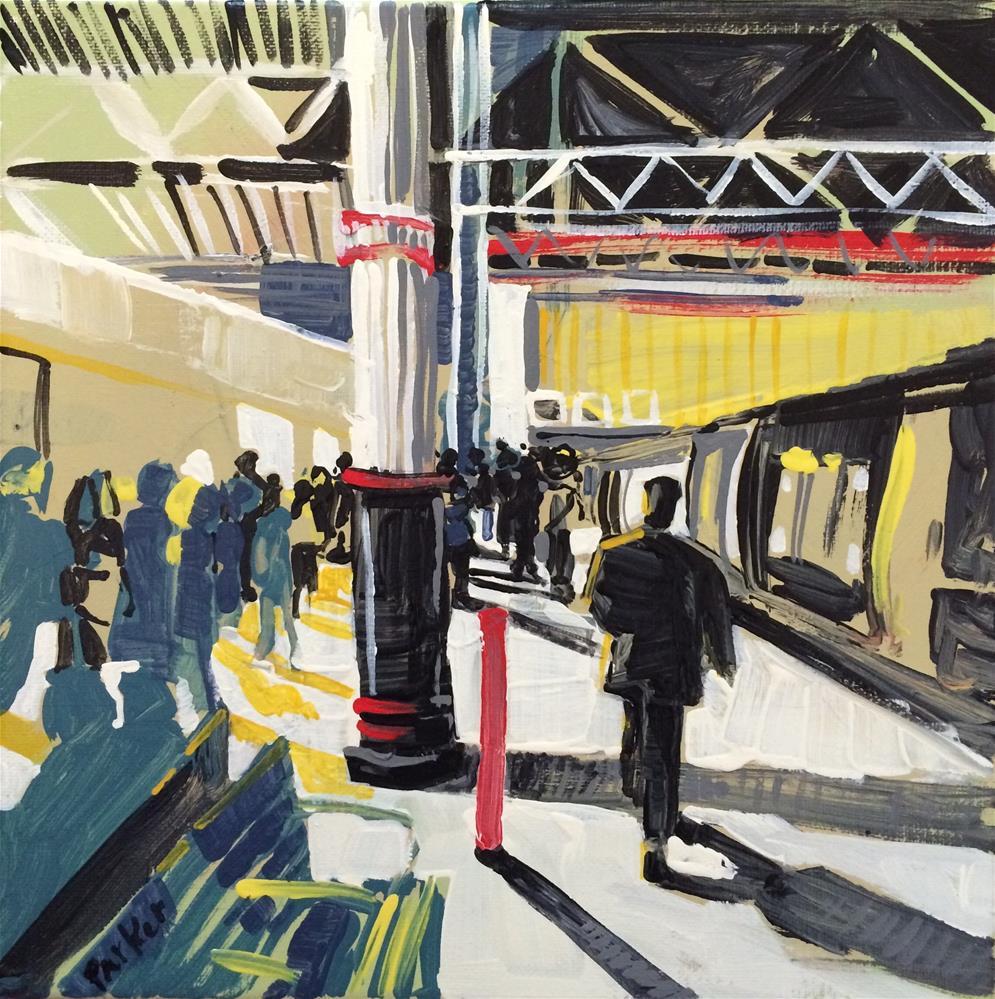 """Station Sketch"" original fine art by Teddi Parker"