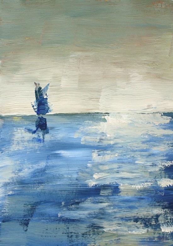 """Horizon"" original fine art by J. Farnsworth"