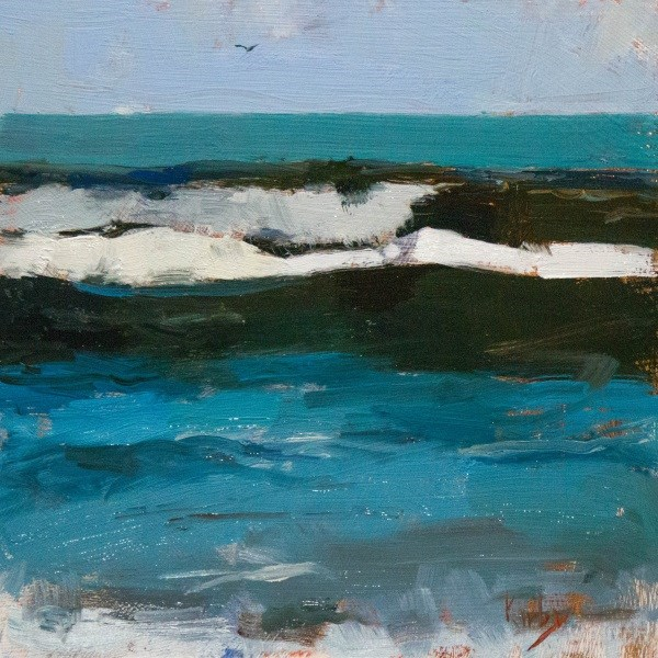 """Salt and Sea"" original fine art by Randall Cogburn"