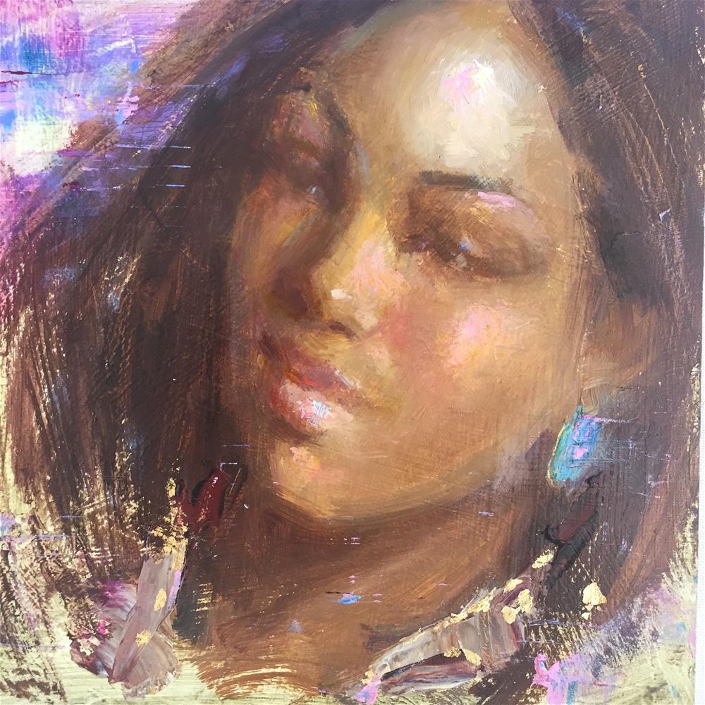 """Treasures Found"" original fine art by Johanna Spinks"