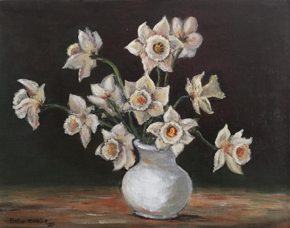 """Spring Flowers"" original fine art by Bebe Combs"