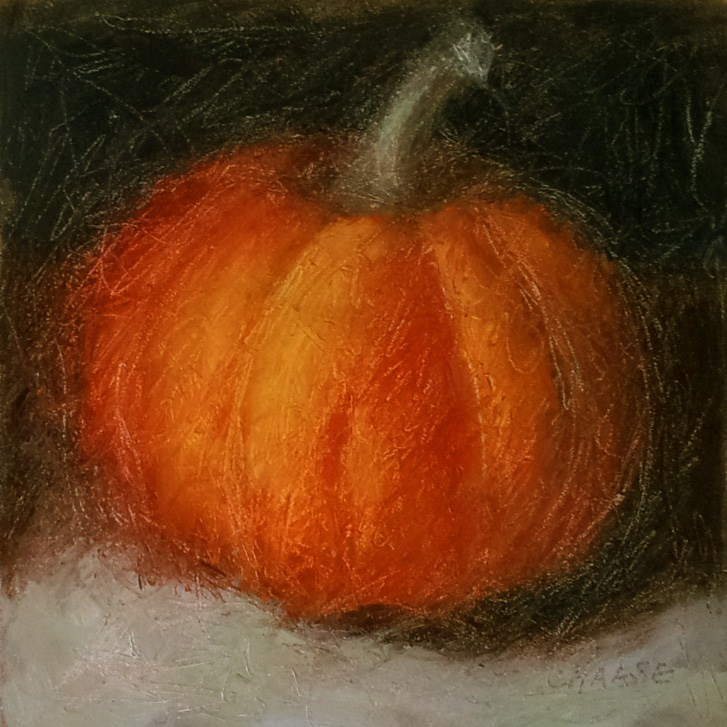 """Pumpkin Redeux"" original fine art by Cindy Haase"