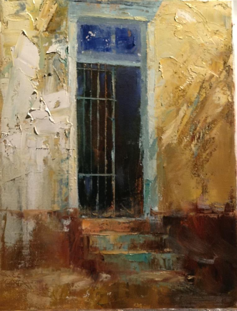 """Barrio Bars"" original fine art by Barbara Fluty"