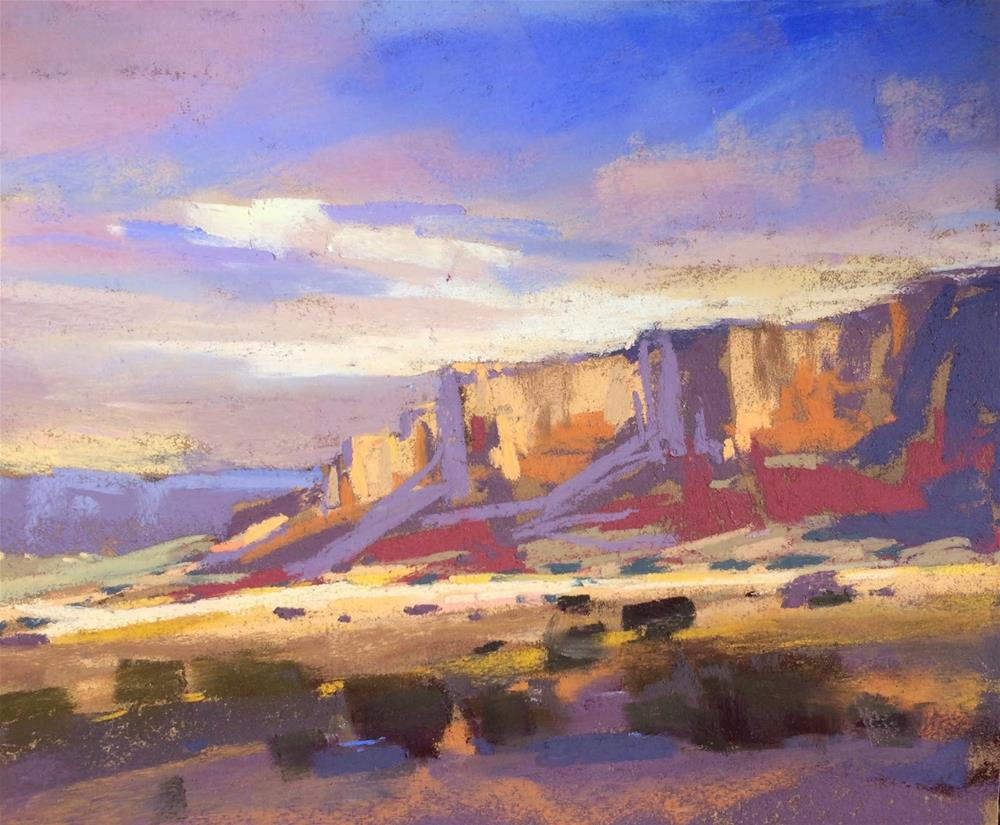 """Top Places and Paintings of 2014....Abiquiu"" original fine art by Karen Margulis"