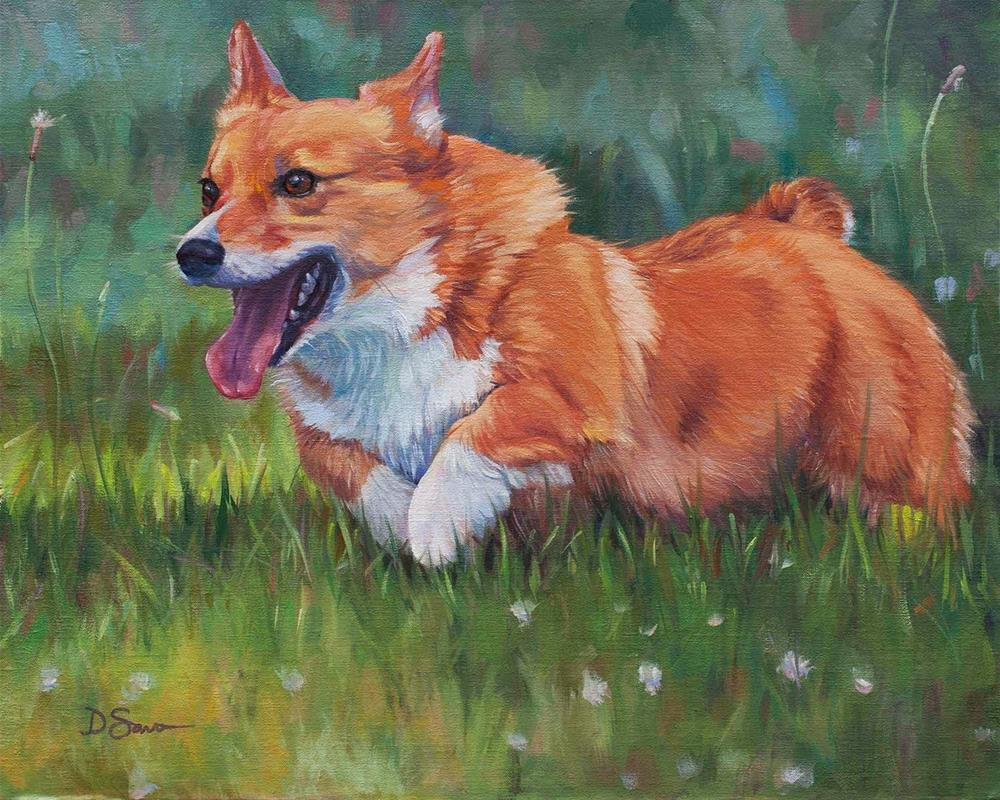 """BT Tucker"" original fine art by Deborah Savo"