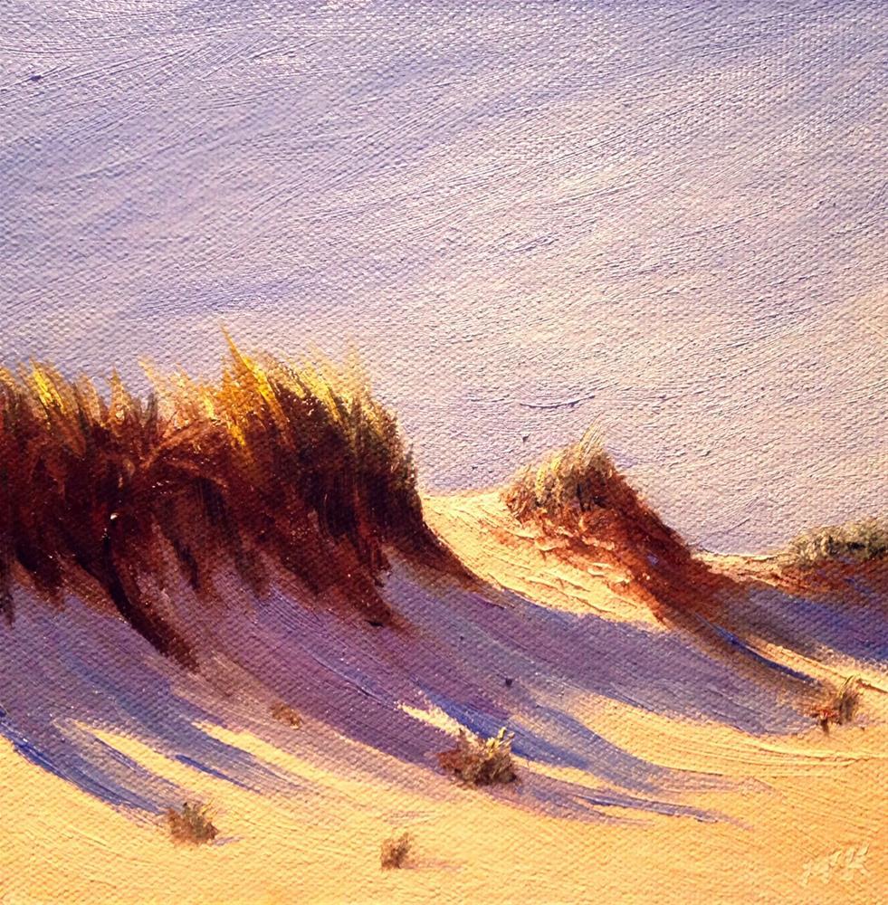 """""""Dune Study"""" original fine art by Judith McKenna"""