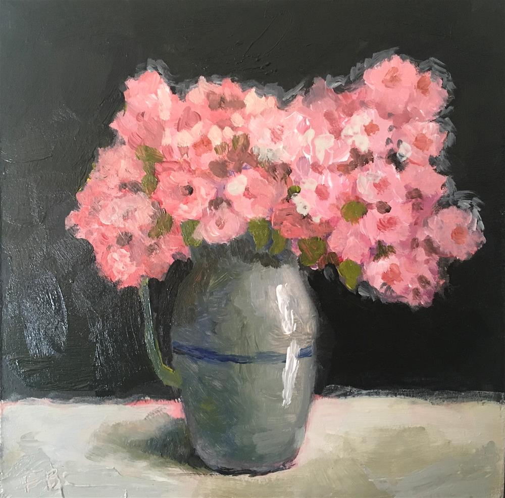"""272 Azaleas"" original fine art by Fred Bell"
