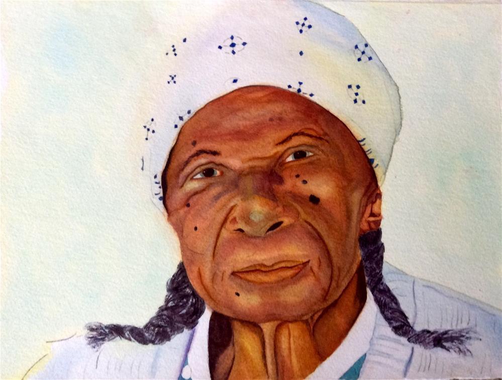 """Wisdom"" original fine art by Susan Hoffheimer"