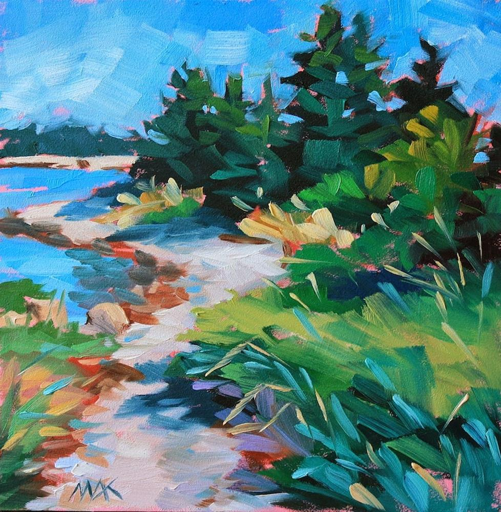 """Water's Edge"" original fine art by Mary Anne Cary"