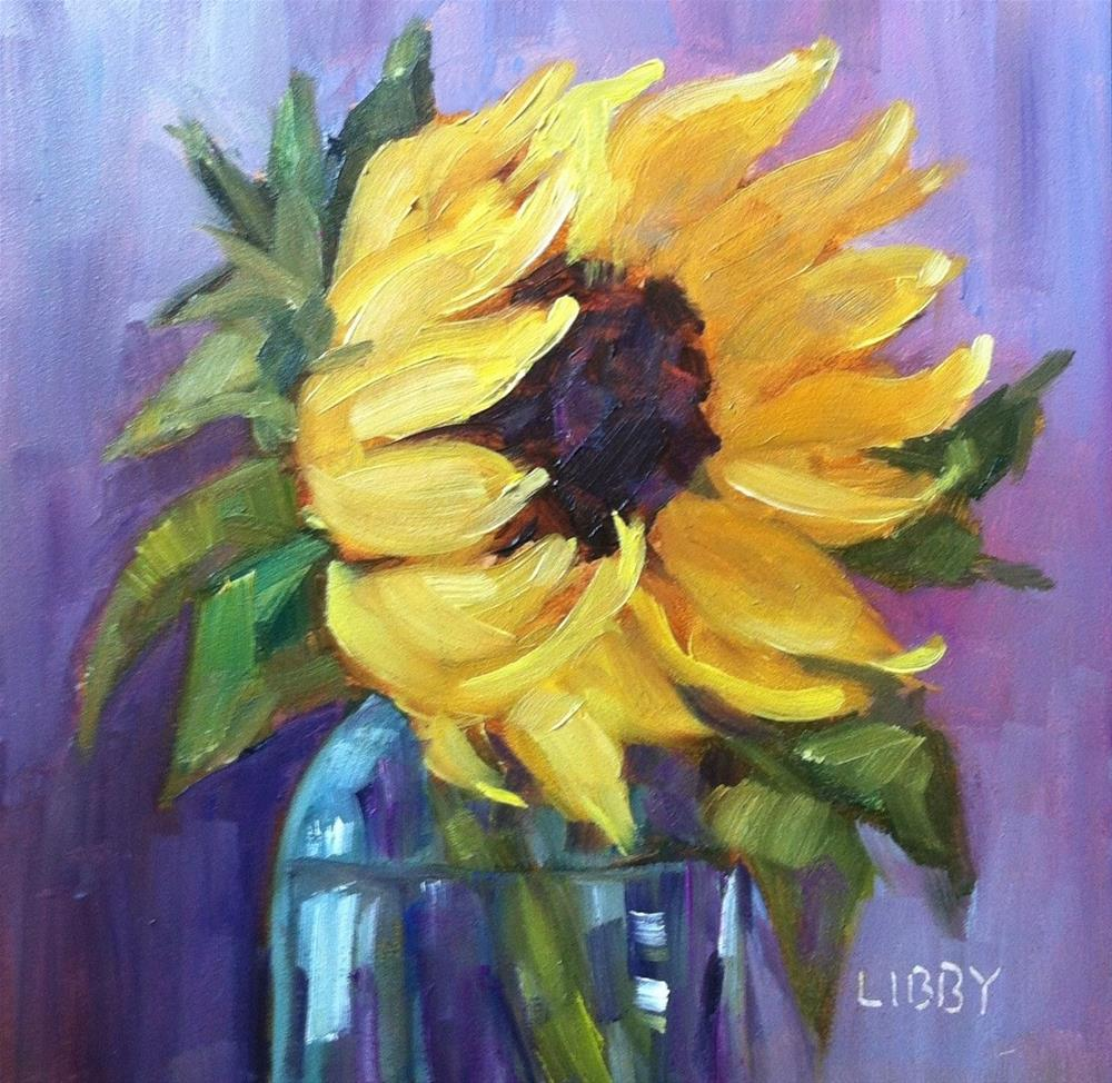 """The Yellow One"" original fine art by Libby Anderson"