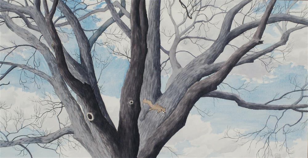 """""""Green Hill Maple"""" original fine art by Greg Arens"""