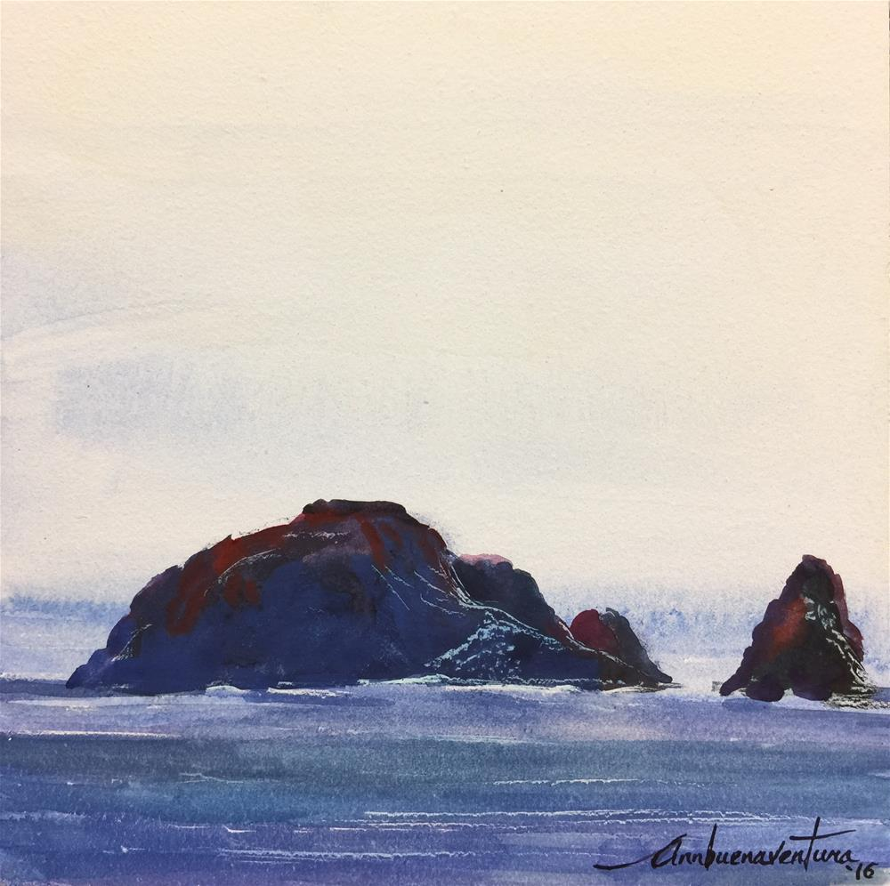 """Crescent City Stillness"" original fine art by Ann Buenaventura"
