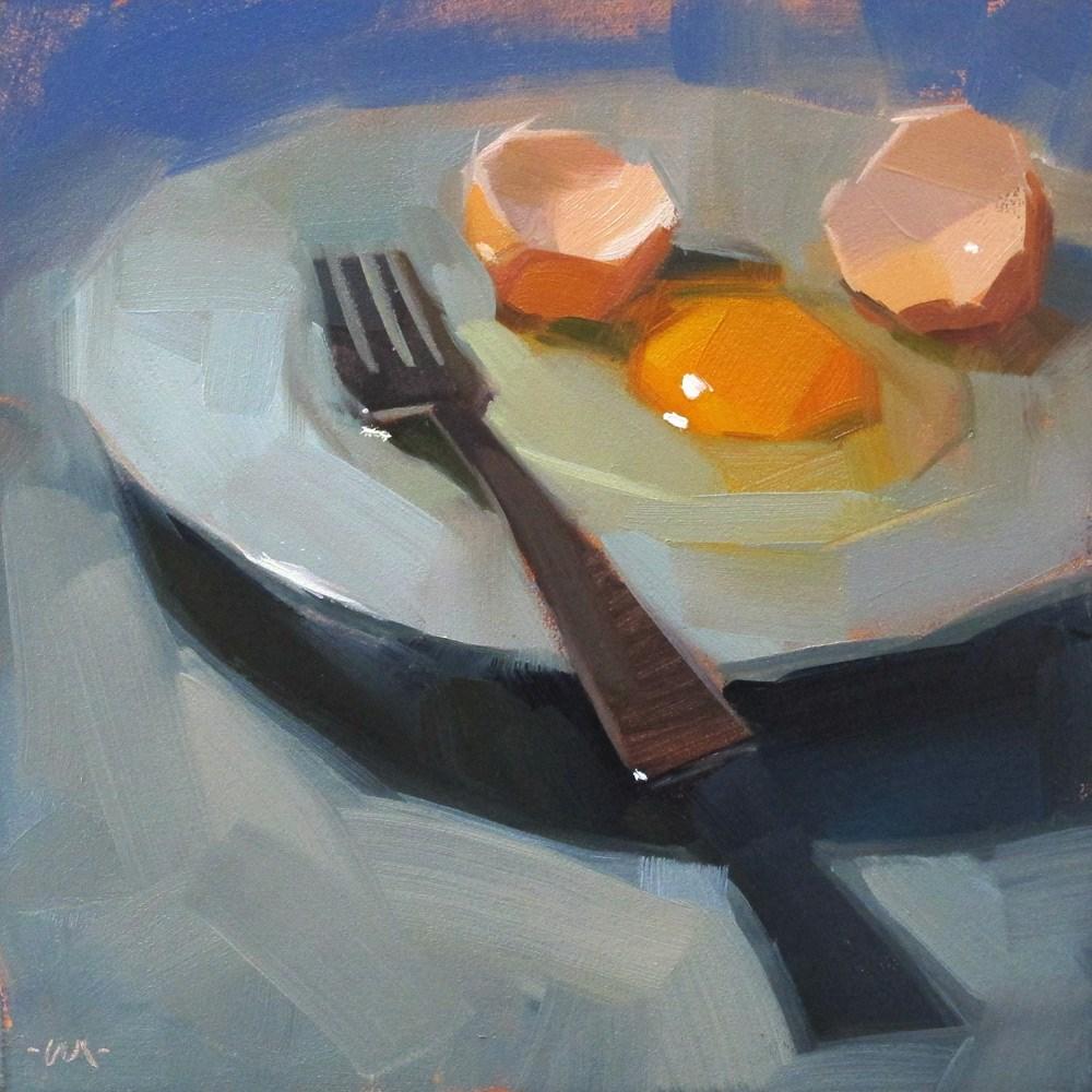 """Crooked Grin"" original fine art by Carol Marine"