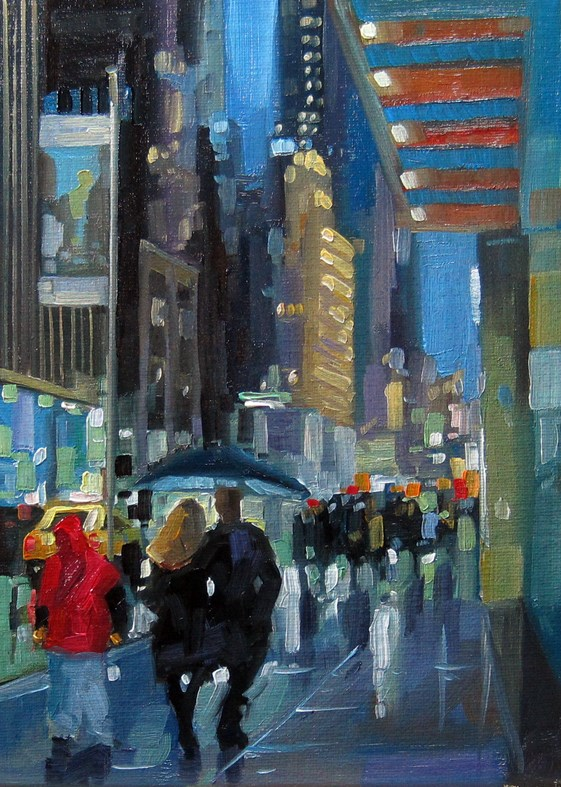 """No769_5thAve57Street.jpg"" original fine art by Robin J Mitchell"