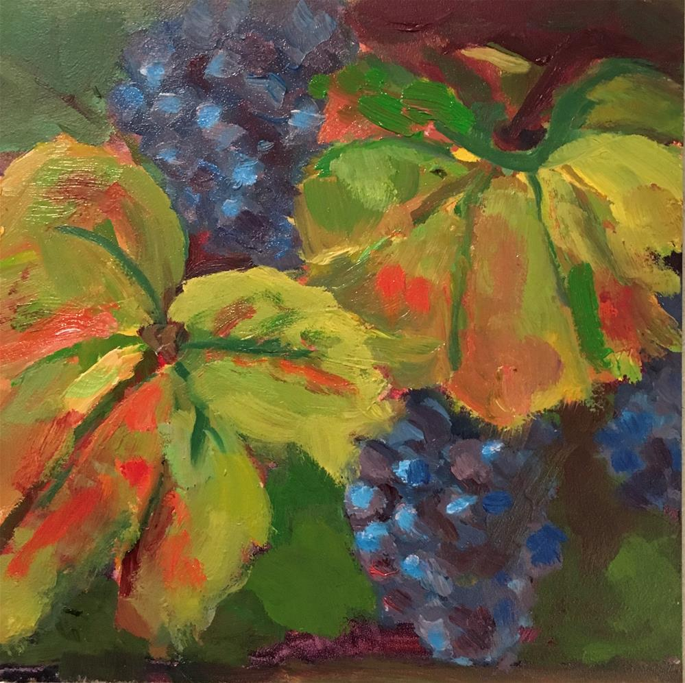"""Wine In ThereSomewhere"" original fine art by Marcia Bergtholdt"
