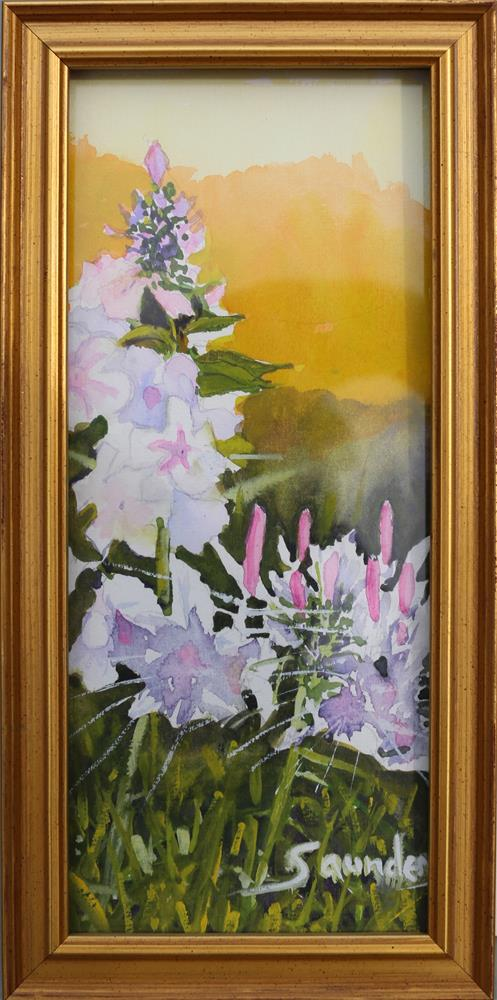 """Sunrise Fllowers"" original fine art by Michael Saunders"