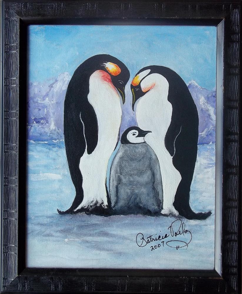"""The Family"" original fine art by Patricia Voelz"