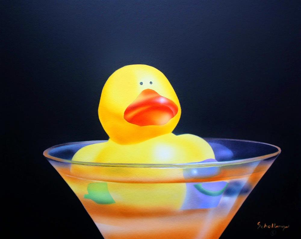"""Whatever Floats Your Duck"" original fine art by Fred Schollmeyer"