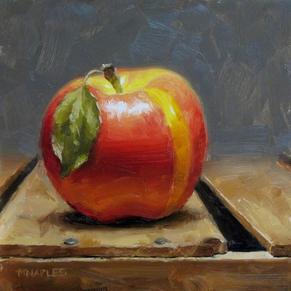 """Yellow Stripe"" original fine art by Michael Naples"
