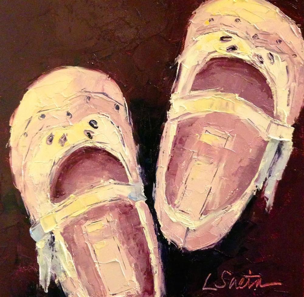 """Thirty Paintings in 30 Days - Day Twenty-three"" original fine art by Leslie Saeta"