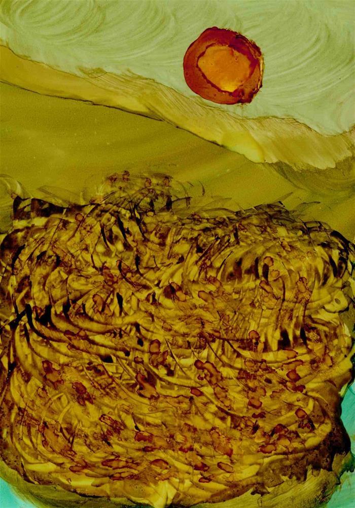 """Prairie Swirl"" original fine art by Kris Alge"
