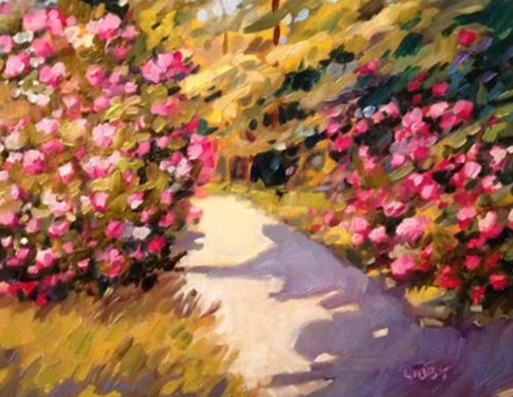 """""""Out of Sight"""" original fine art by Libby Anderson"""