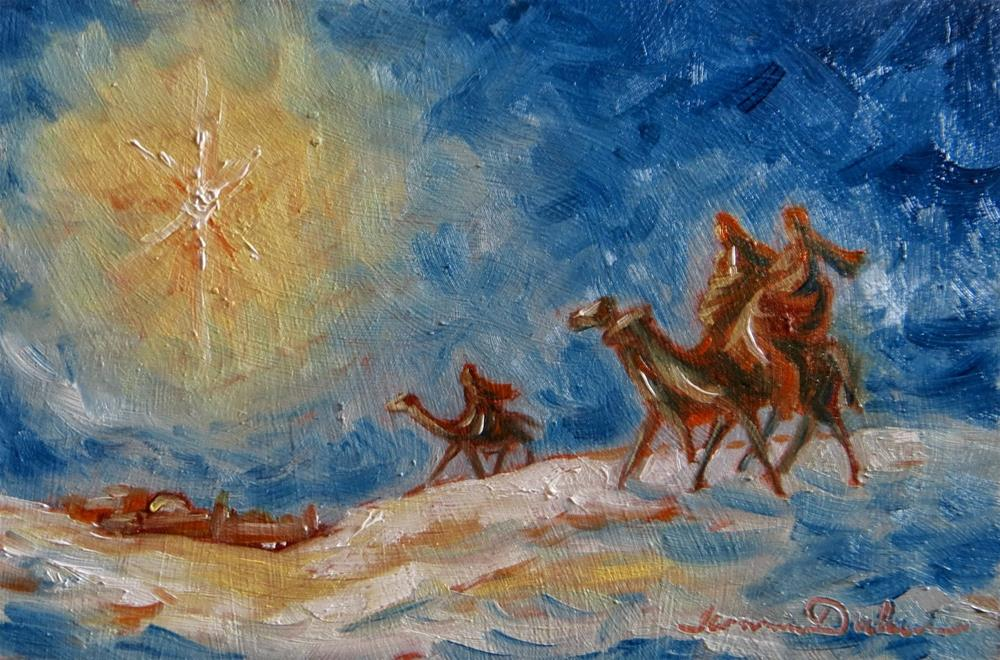 """We Three Kings"" original fine art by Tammie Dickerson"