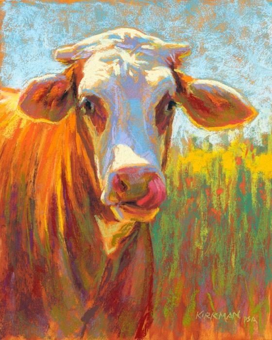 """Marmalade"" original fine art by Rita Kirkman"