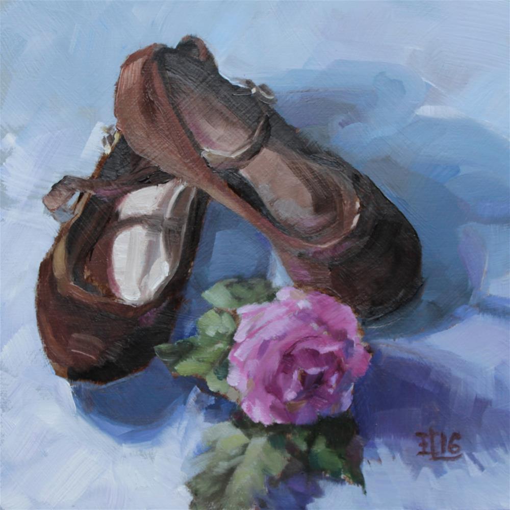 """Prom Shoes"" original fine art by Emilia Leinonen"