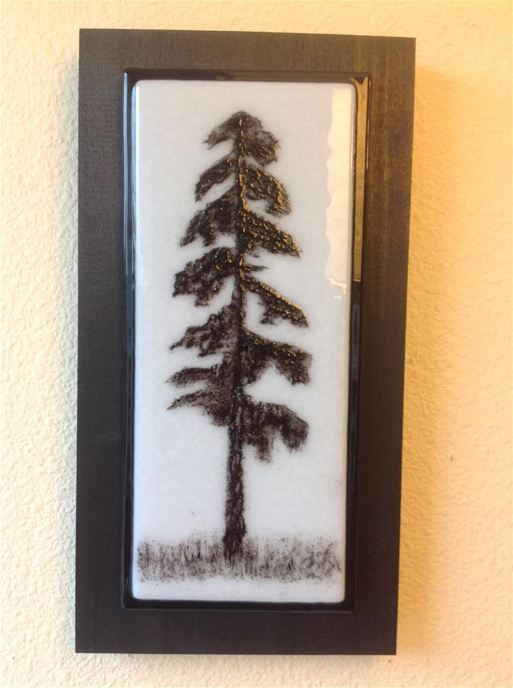 """NW Tree #5"" original fine art by Calloway Meiners"