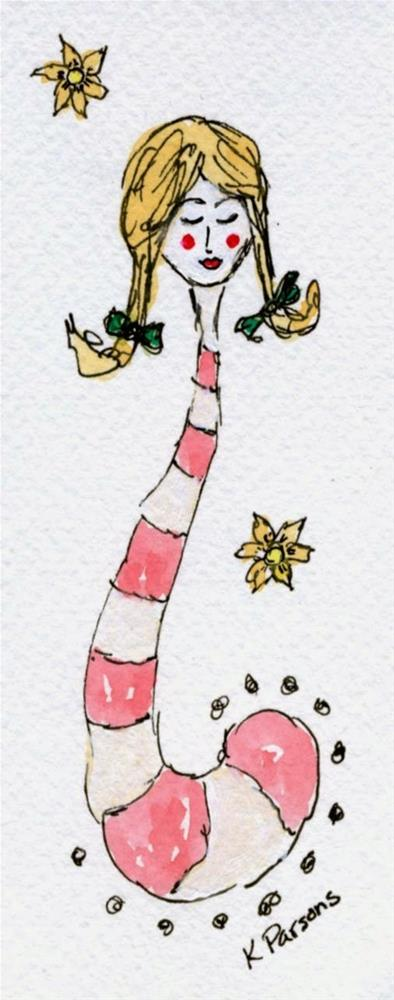 """There's a Little Dr. Suess in All of Us"" original fine art by Kali Parsons"