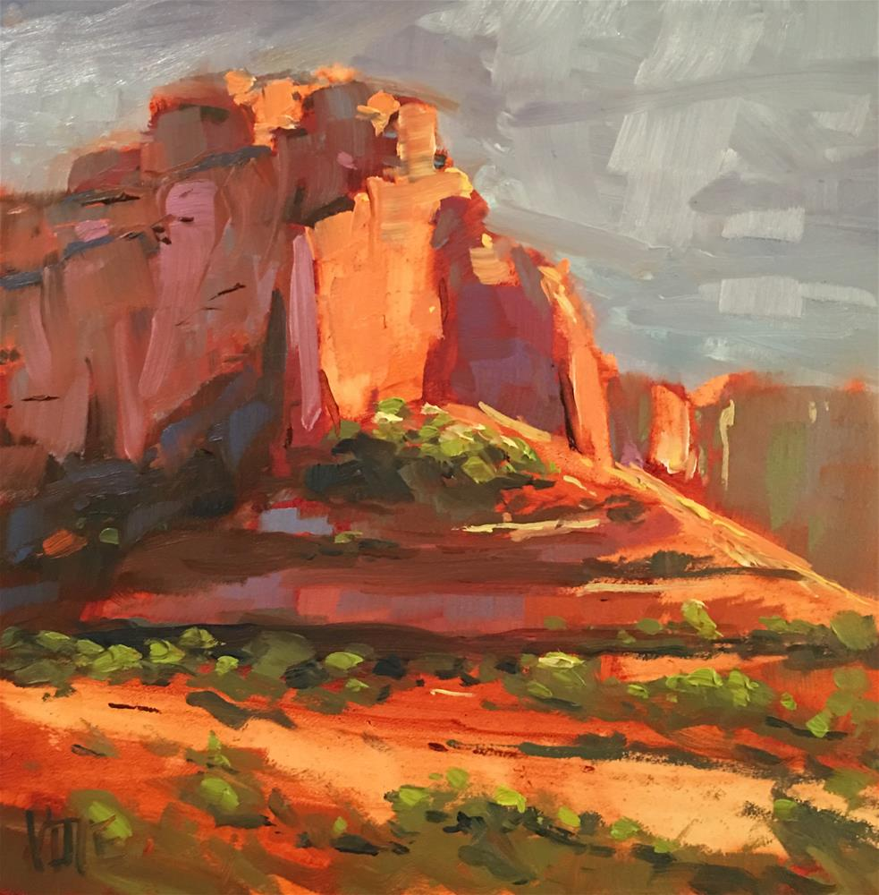 """#319 Ode to Arizona"" original fine art by Patty Voje"