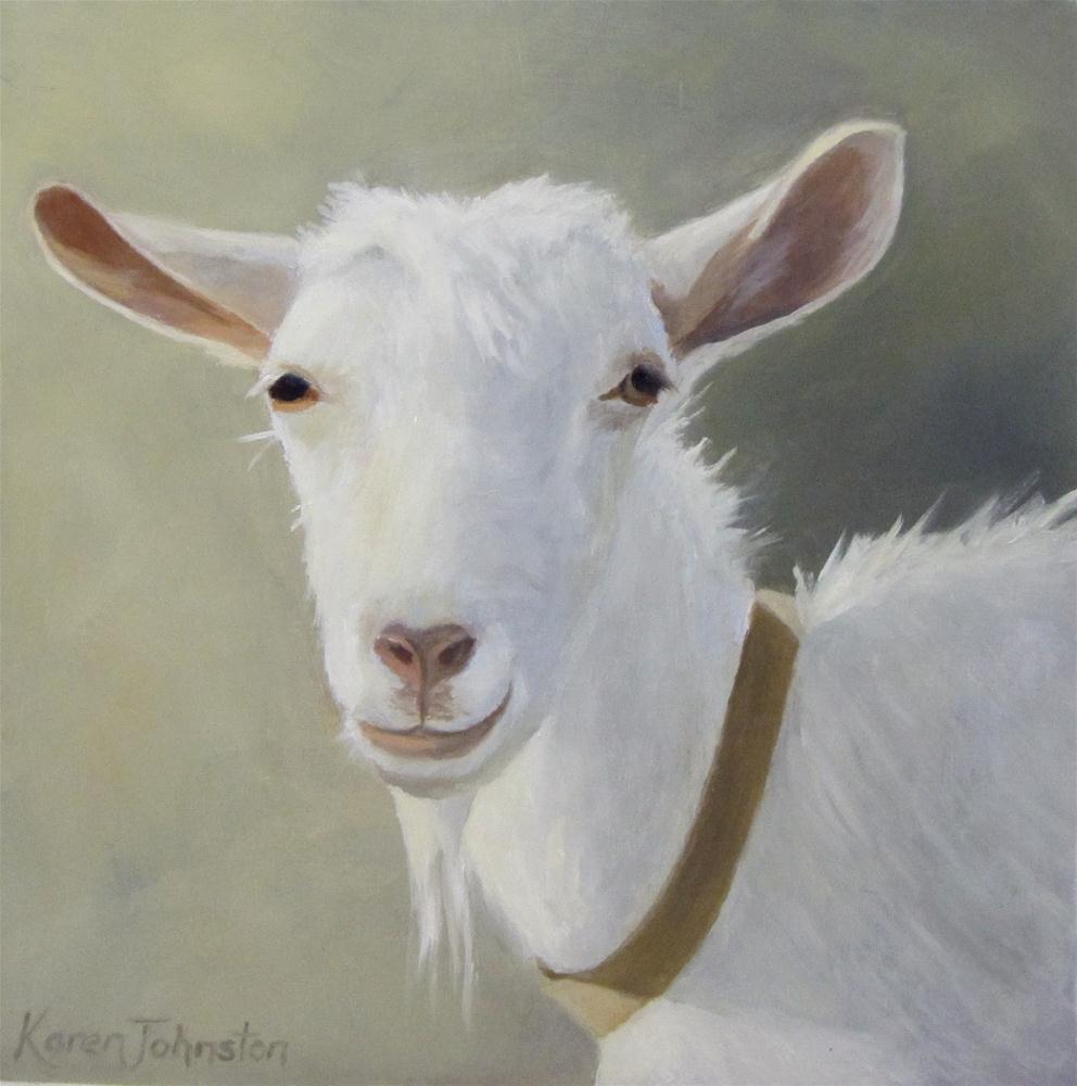 """Gorgeous Gus"" original fine art by Karen Johnston"