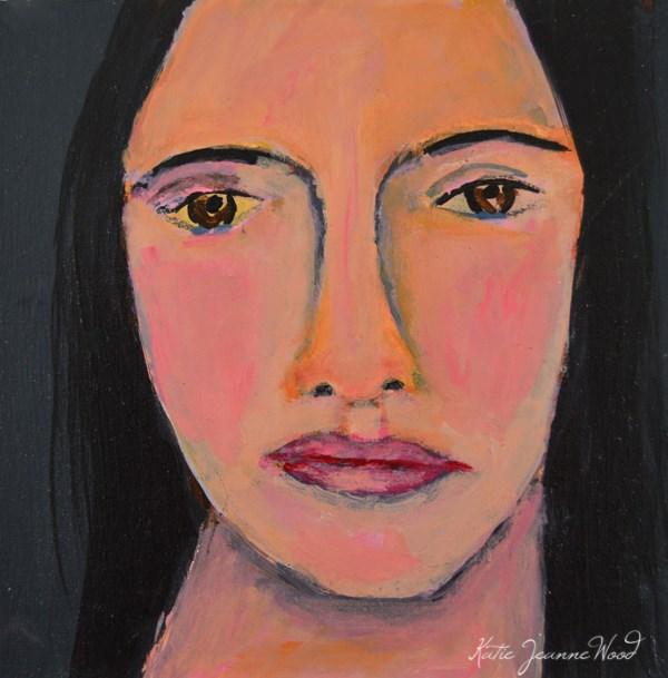 """""""She Couldn't Believe It"""" original fine art by Katie Jeanne Wood"""