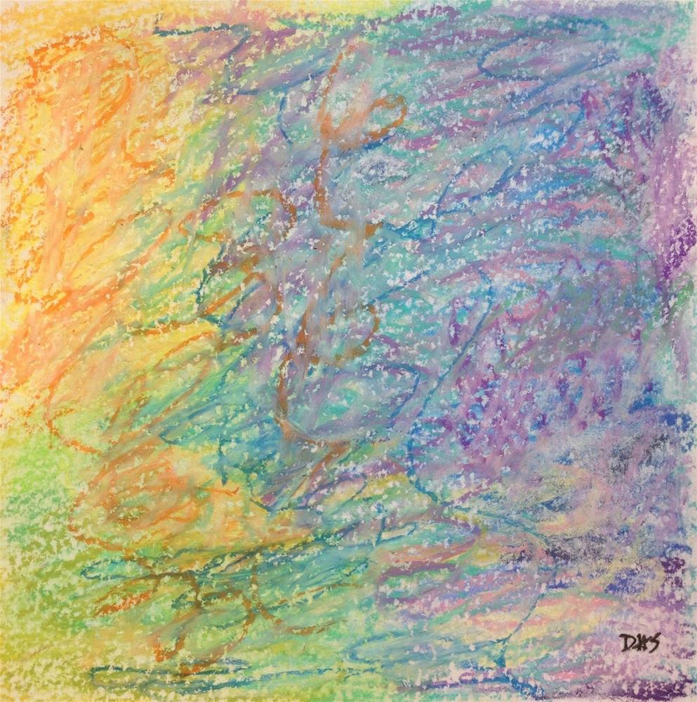 """""""Godspeed"""" original fine art by Dotty  Seiter"""