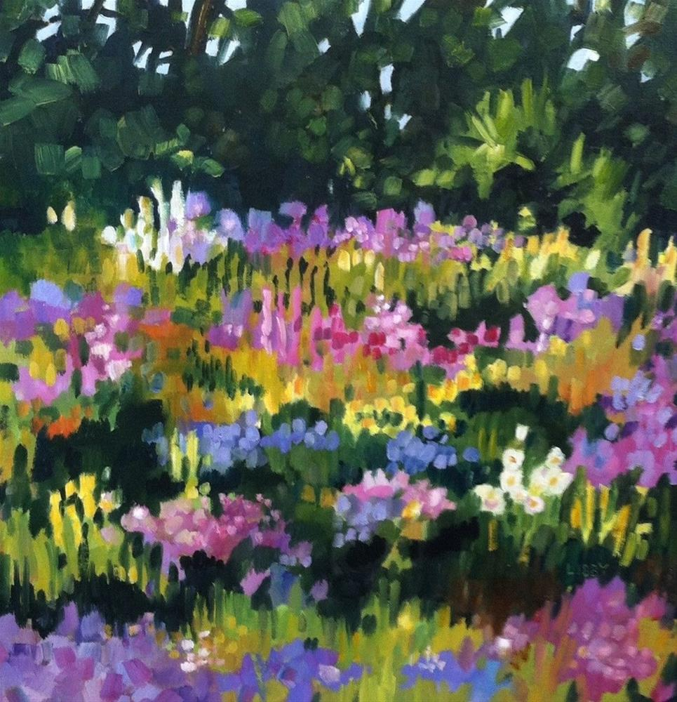 """Mary's Garden"" original fine art by Libby Anderson"