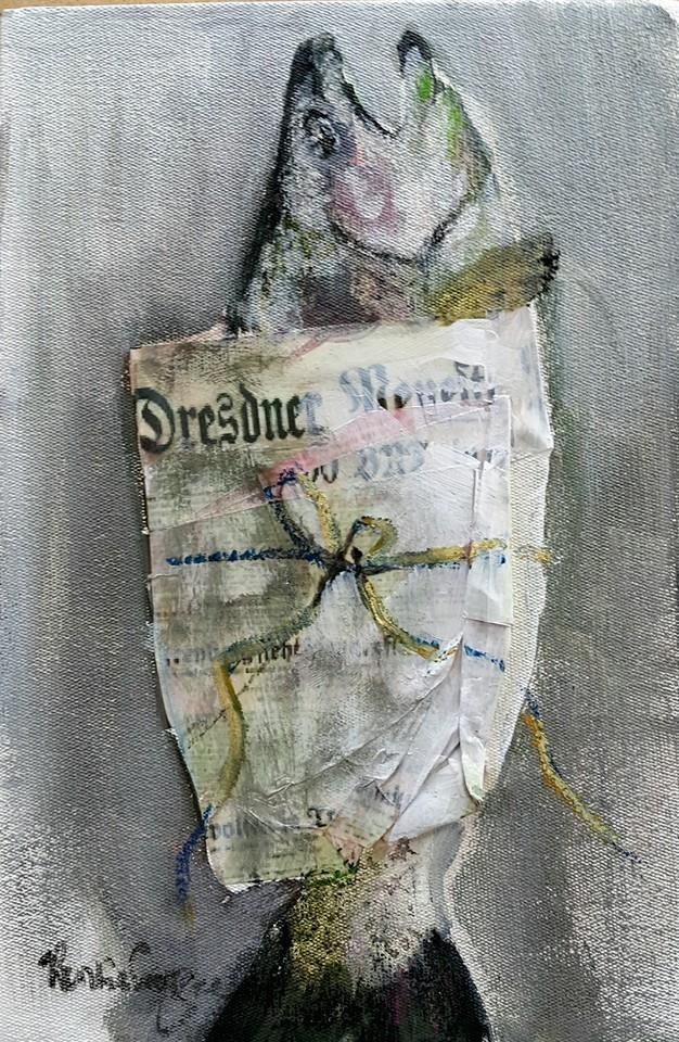 """Lunch 3"" original fine art by Rentia Coetzee"