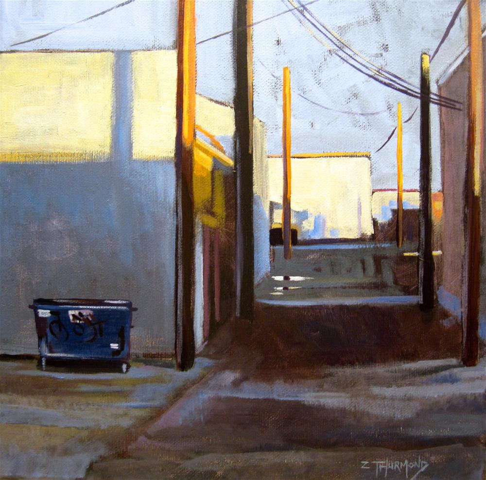 """Puddle"" original fine art by Zack Thurmond"