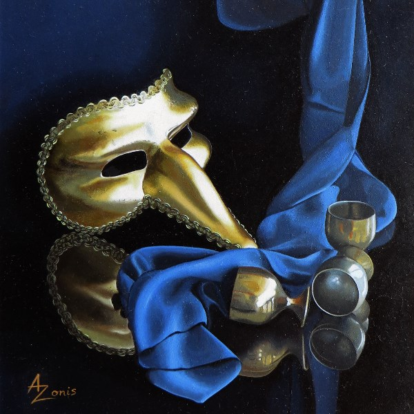 """All That Glitters"" original fine art by Alex Zonis"