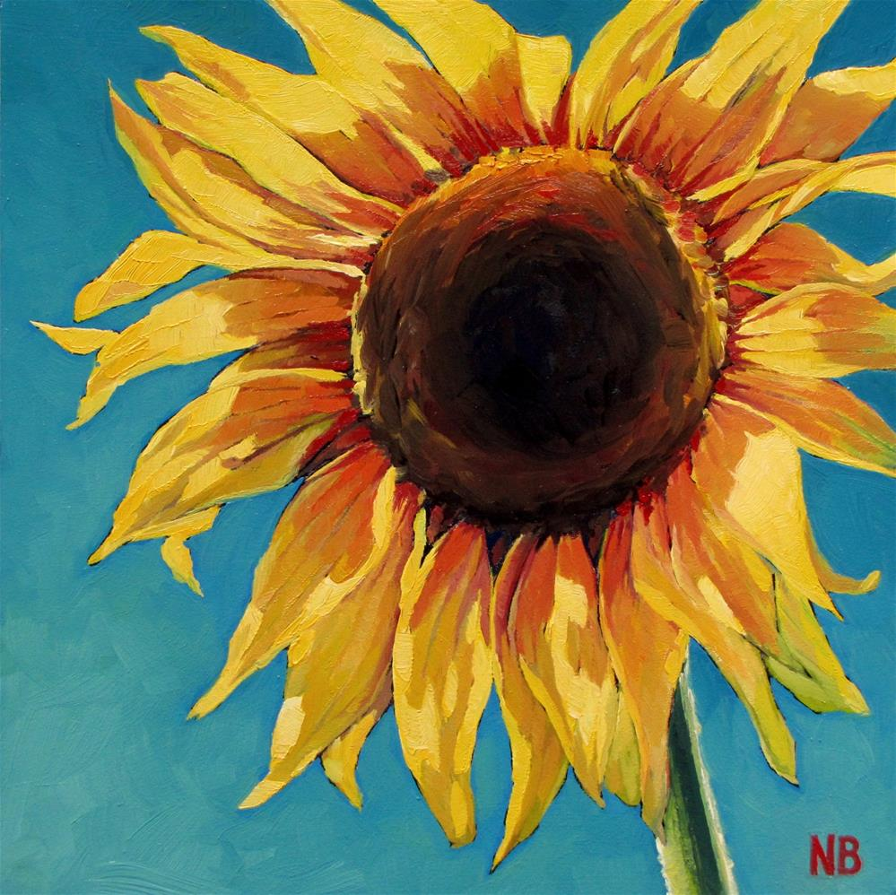 """Day in the Sun"" original fine art by Nora Bergman"