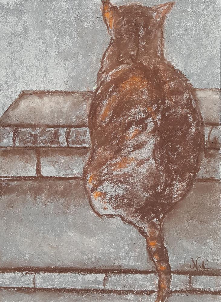 """Counter-Protest"" original fine art by Niki Hilsabeck"