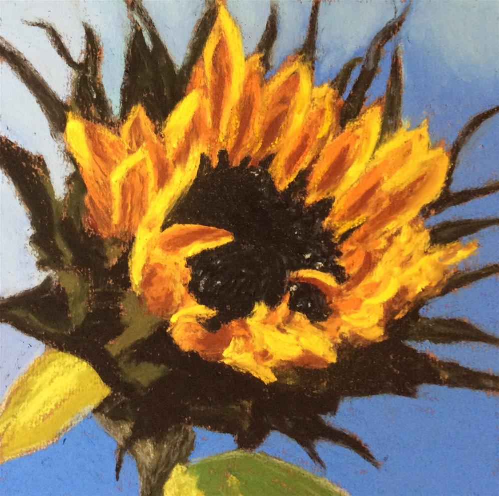 """SUNSHINE ON A STEM"" original fine art by Marti Walker"