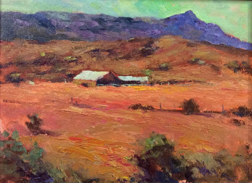 """The Homestead"" original fine art by John Shave"